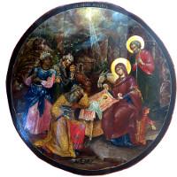 Икона Рождество Христово, XVIII в. | фото с сайта Wikipedia.org