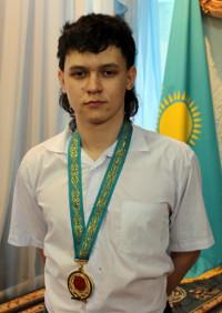 Золотой медалист — Валиев Рамиль