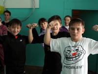 Спортивная эстафета, посвящённая Дню Защитника Отечества