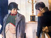 В. В. Верещагин.Наполеон и Лористон.Тарутинский маневр. | Фото с сайта www.1812.nsad.ru