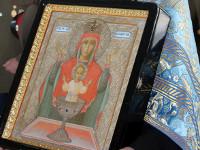 Икона Пресвятой Богородицы «Неупиваемая Чаша»