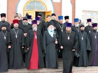 Духовенство епархии поздравляет владыку