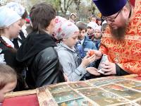 Пасхальная радость в школе прпеподобного Сергия