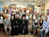 Праздничный концерт в Средней школе в честь прп. Сергия Радонежского