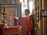 Первая детская литургия с участием воспитанников Воскресных школ епархии