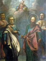 Икона святых апотолов Петра и Павла | www.cirota.ru