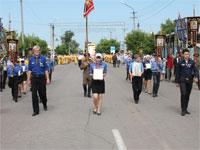 Участие следопытов отряда «Дельта» в крестном ходе на день города