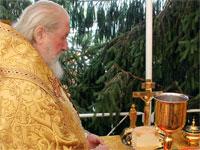 Архиерейское поминовение о здравии верующих