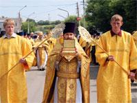 Изнесение мощей святых апостолов
