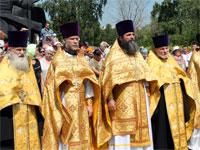 Священство на молебне