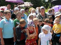 Учащиеся младшего звена школы преподобного Сергия