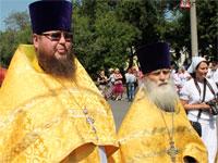 Священство нашего храма: протоиерей Виктор и протоиерей Симеон