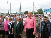 Прихожане посёлка городского типа Смирново