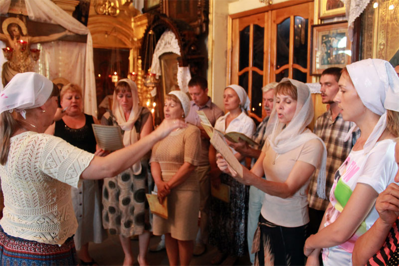 В Рубцовске при Михайло-Архангельском храме работает