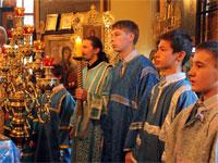 Торжественное Погребение Пресвятой Богородицы