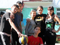 Победители соревнований по волейболу