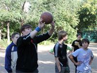 Состязания по баскетболу