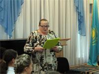 Встреча учащихся с поэтом-земляком Муталлапом Кангожиным
