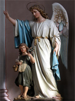 Ангел Хранитель - статуя    angelybesyilyudi.ru