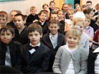 День независимости в школе преподобного Сергия