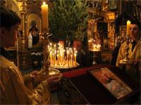 Престольный праздник крестильного храма