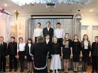 Рождественский концерт в школе преподобного Сергия