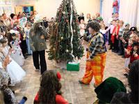 Рождественская ёлка для учащихся школы прп. Сергия Радонежского