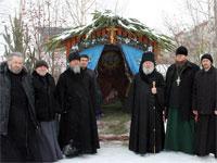 Рождественское архиерейское богослужение в храме Всех Святых
