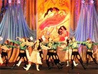 Казахский народный танец «Кара жорга»