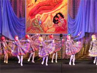 Танец в народной стилистике