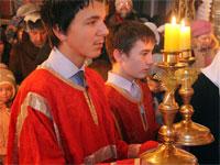Юные свещеносцы