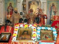 Архиерейское богослужение праздника священномученика Мефодия