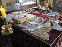 Погребение Спасителя и плач Пресвятой Богородицы