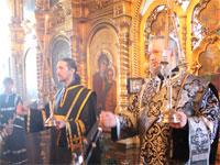 Архиерейское богослужение Великой Субботы