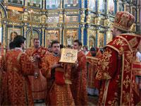 Малый вход со святым Евангелием