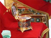 Мощи святого великомученика Георгия Победоносца