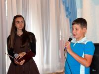 Поздравляют Маша Тюканько и Влад Червоносов