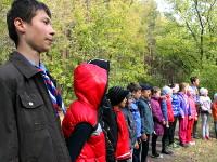 Знакомство со скаутингом учащихся Средней Школы преподобного Сергия Радонежского
