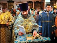 Общая молитва на молебне