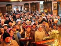 Общая молитва в храме