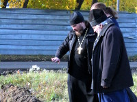 Топографическое исследование церковного кладбища