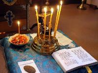 Панихида по отцу Иоанну — покойному настоятелю храма Всех Святых
