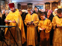 Поминовение о здравии верующих на праздничном молебне
