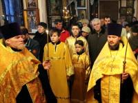 Богослужение недели о мытаре и фарисее