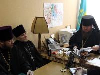 В епархиальном управлении  состоялось собрание духовенства двух храмов