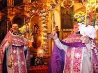 Пасхальное богослужение в храме Всех Святых