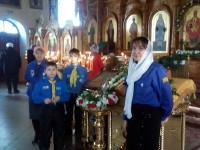 Скауты приняли участия в торжестве, посвященном 1000-летию представления святого князя Владимира