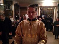 Всенощное бдение на праздник святого праведного Иоанна Кронштадтского