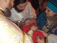 В храме Всех Святых состоялось Рождественское Богослужение
