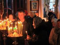 13 марта храме Всех Святых состоялся чин прощения